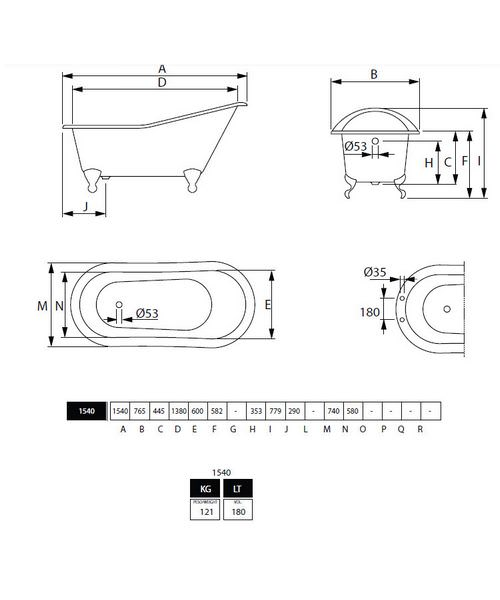 Technical drawing 10020 / ZCI000102S