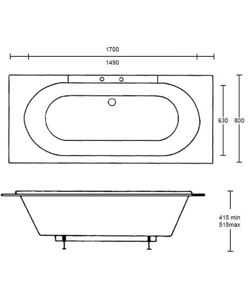 Technical drawing 10030 / XW70010410