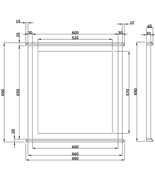 Technical drawing 10077 / XWT0019020