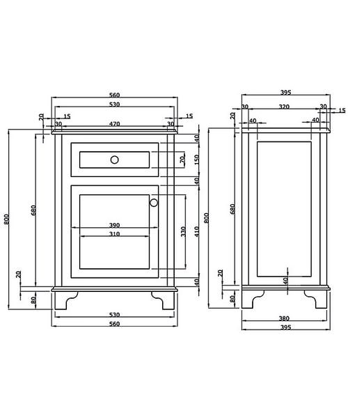 Technical drawing 10080 / XWT0011020R