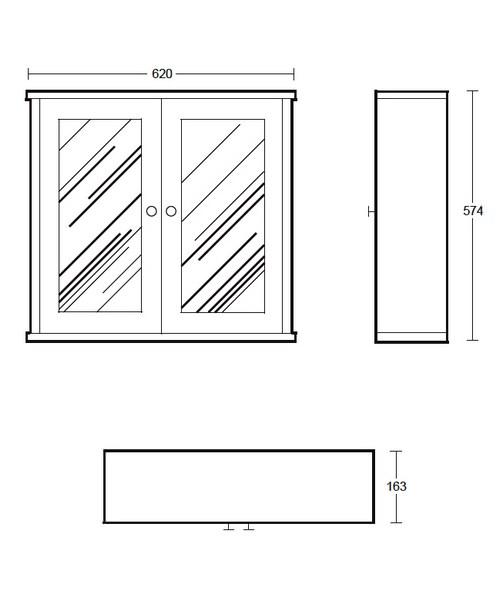 Technical drawing 10088 / XG34WCM020