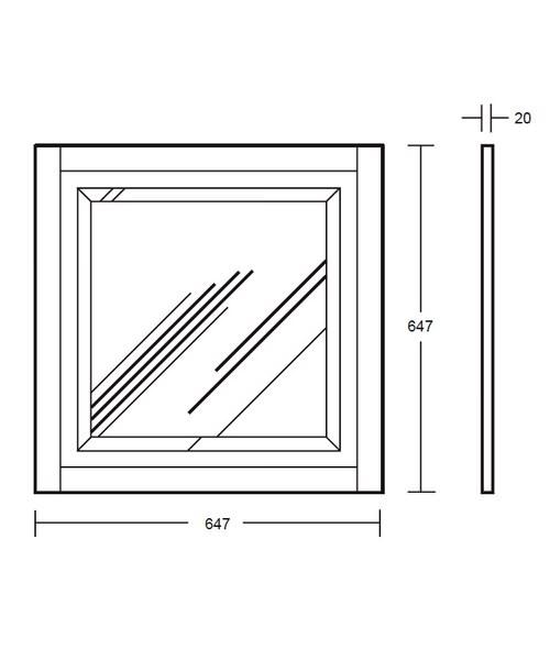 Technical drawing 10093 / XG3900020O