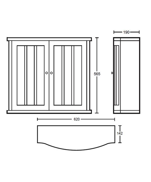 Technical drawing 10098 / XG34WCG042