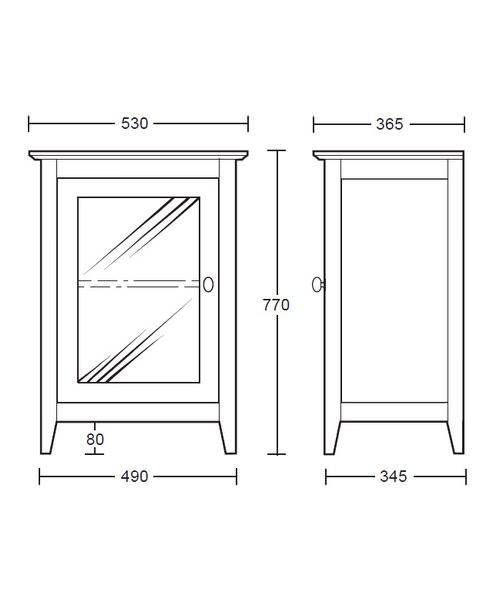 Technical drawing 10106 / XW33100020W