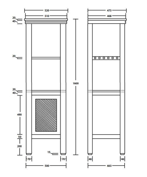 Technical drawing 10110 / XWCM011042