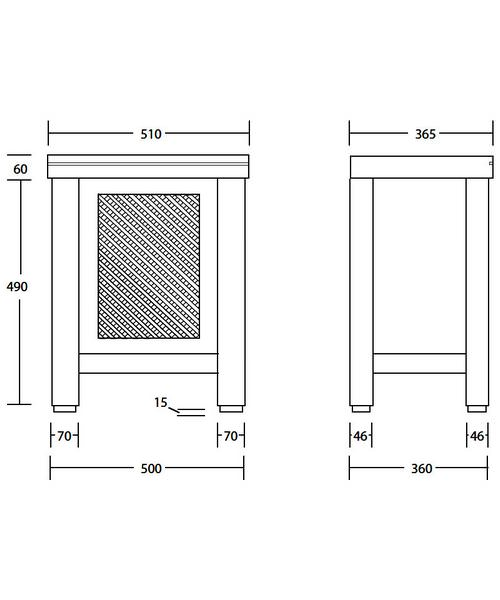 Technical drawing 10116 / XWCM013042