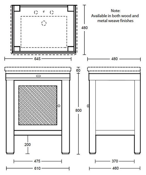 Technical drawing 10118 / XWCG017042