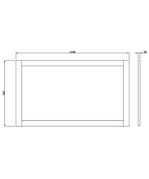 Technical drawing 10139 / XWB0090042