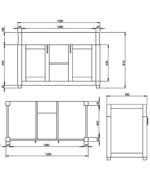 Technical drawing 10141 / XWB0030042