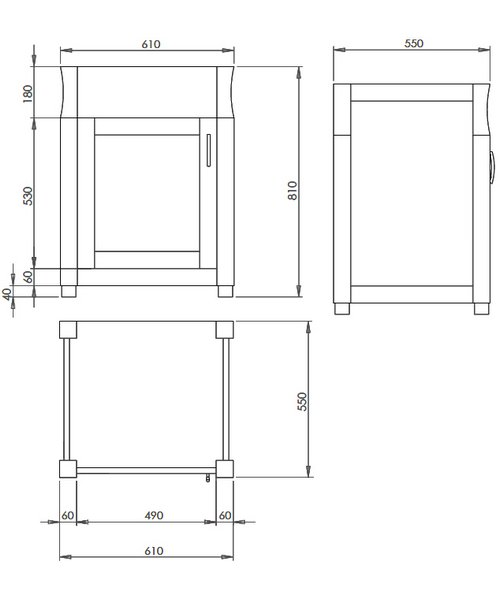 Technical drawing 10142 / XWB0010042
