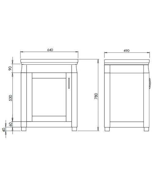 Technical drawing 10143 / XWB0010042