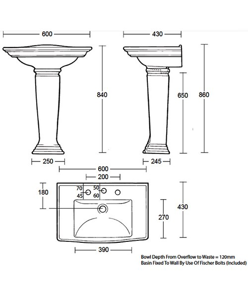 Technical drawing 10147 / WM1MB11030