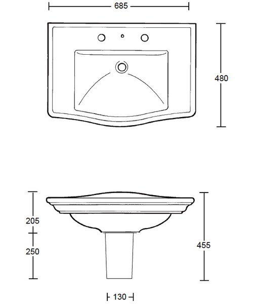 Technical drawing 10148 / WM1LB11030