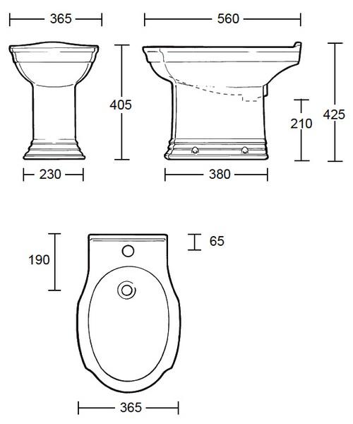 Technical drawing 10153 / WM1BI11030