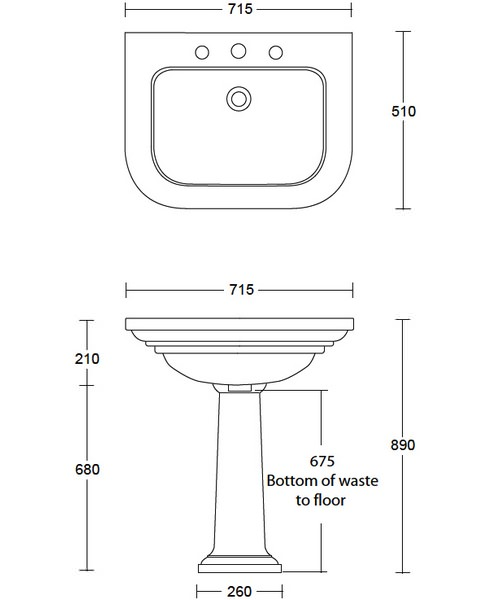 Technical drawing 10158 / CR1LB11030