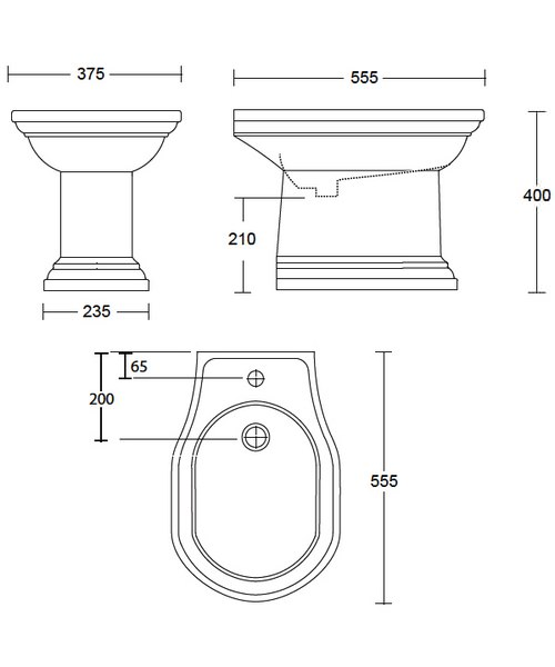 Technical drawing 10162 / CR1BI11030