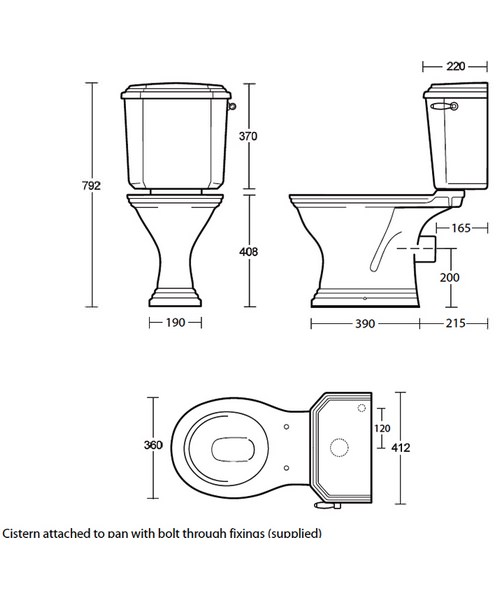 Technical drawing 10170 / AD1WC01030
