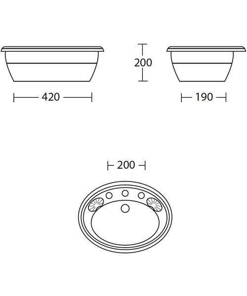 Technical drawing 10183 / OX1IB11030