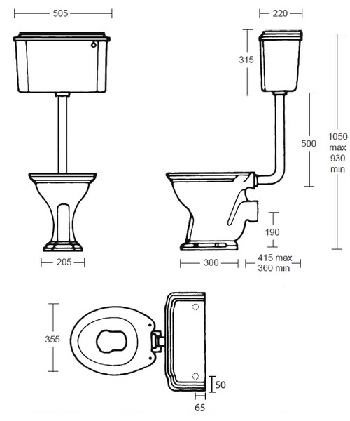 Technical drawing 10186 / OX1WC01030