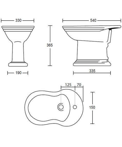 Technical drawing 10191 / OX1BI11030