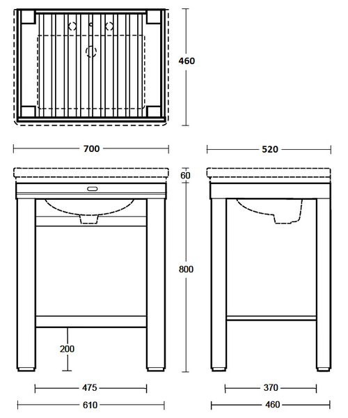 Technical drawing 10194 / XWC0016020