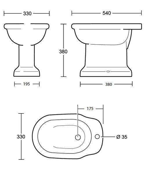 Technical drawing 10195 / ET1BI11030