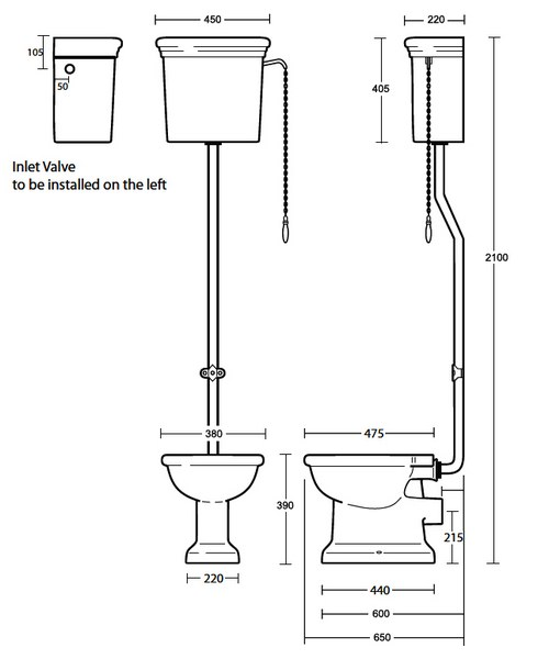 Technical drawing 10199 / ET1WC01030