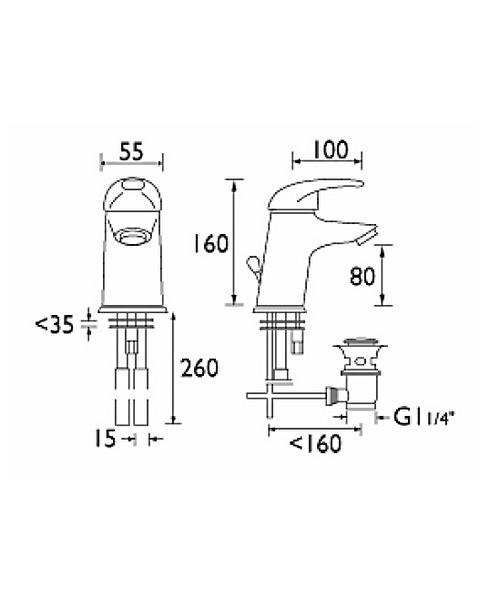 Technical drawing 1019 / J EBAS C