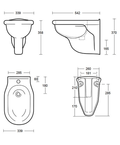 Technical drawing 10208 / FI1BH11030