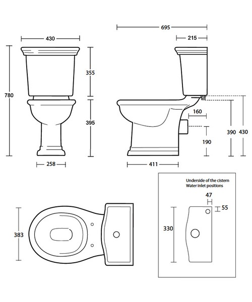 Technical drawing 10240 / BE1WC01030