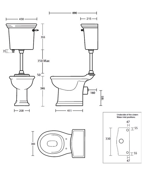 Technical drawing 10241 / BE1WC01030