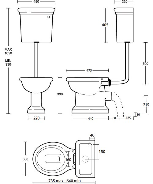 Technical drawing 10292 / ET1WC01030