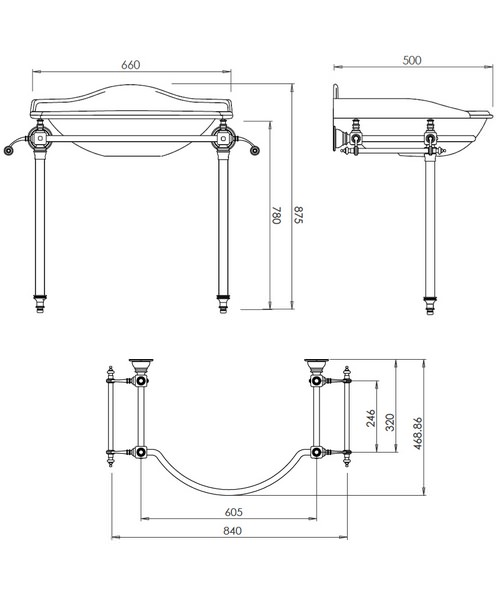 Technical drawing 10305 / ZXBS2800100