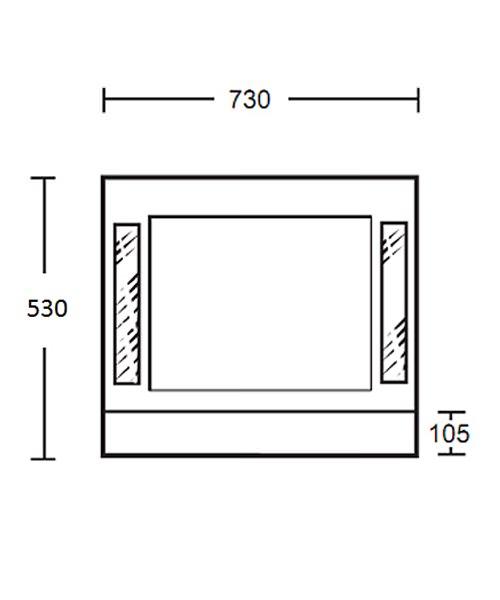 Technical drawing 10319 / XG44210042