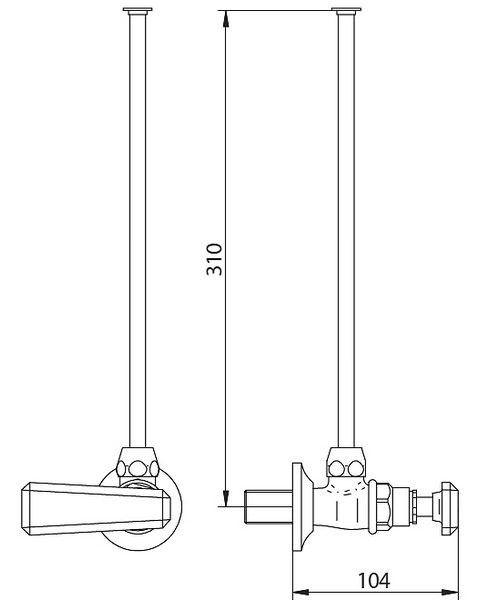 Technical drawing 10348 / ZXT6056100