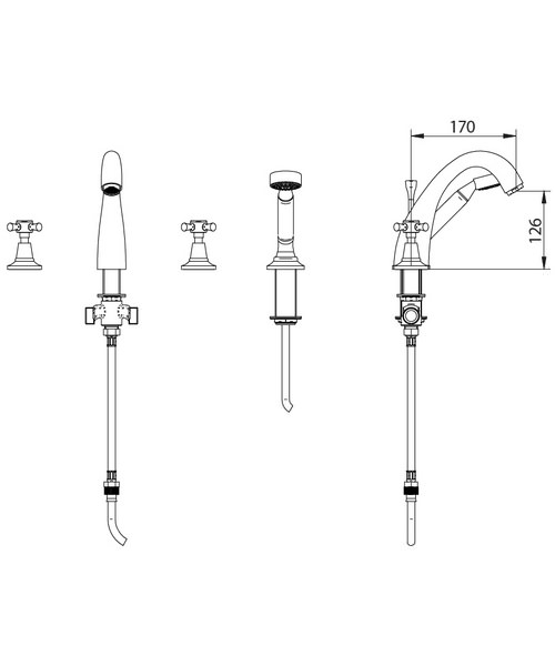 Technical drawing 10350 / ZXT6006100