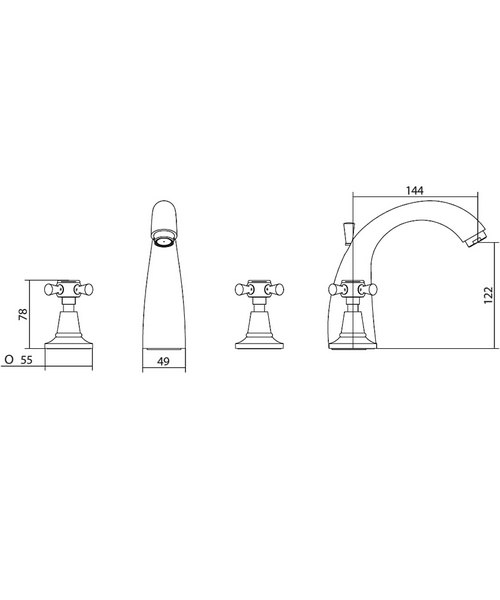 Technical drawing 10351 / ZXT6005100