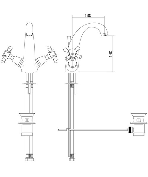 Technical drawing 10352 / ZXT6009100