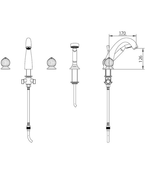 Technical drawing 10356 / ZXT6030100