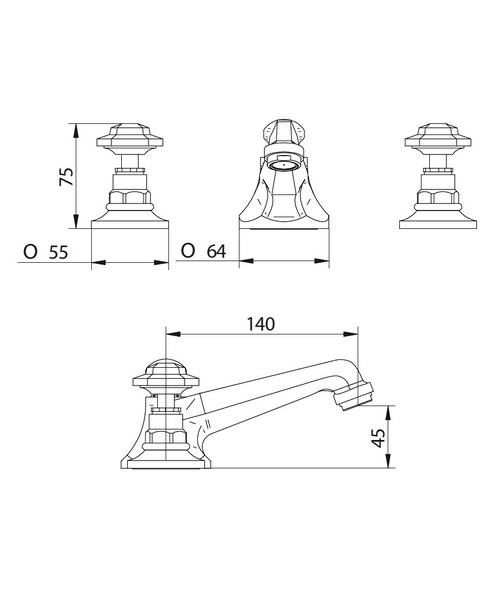 Technical drawing 10368 / ZXT6043100