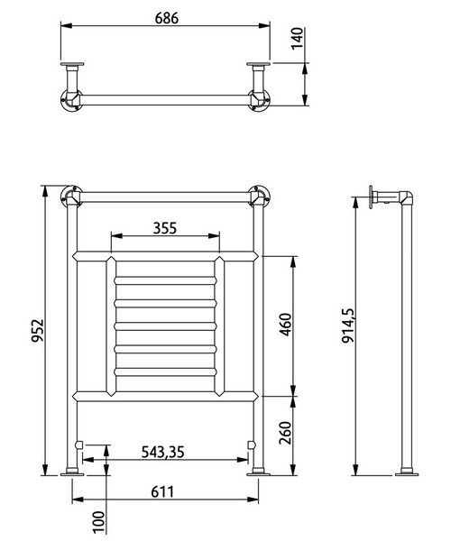 Technical drawing 10396 / RAD0140100