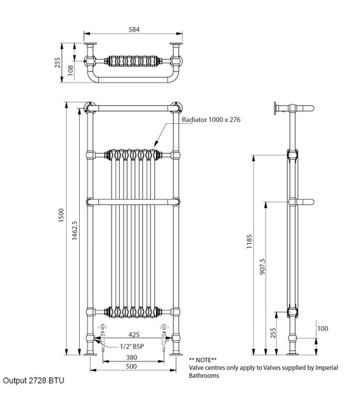 Technical drawing 10405 / RAD0210100
