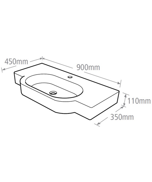 Technical drawing 10446 / OV945W