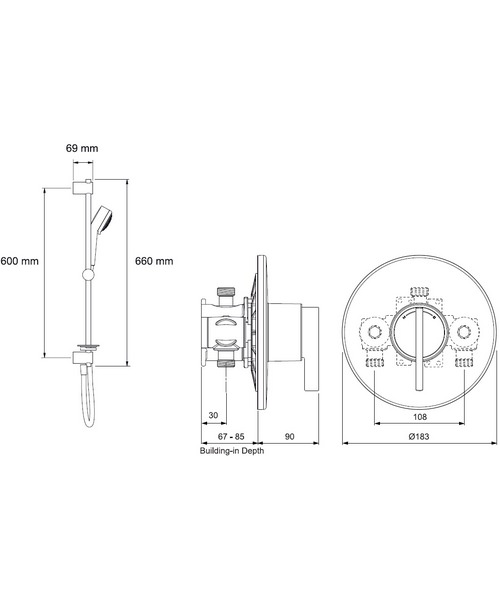Technical drawing 10499 / 1.1628.002