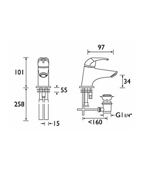 Technical drawing 1091 / J MBAS C