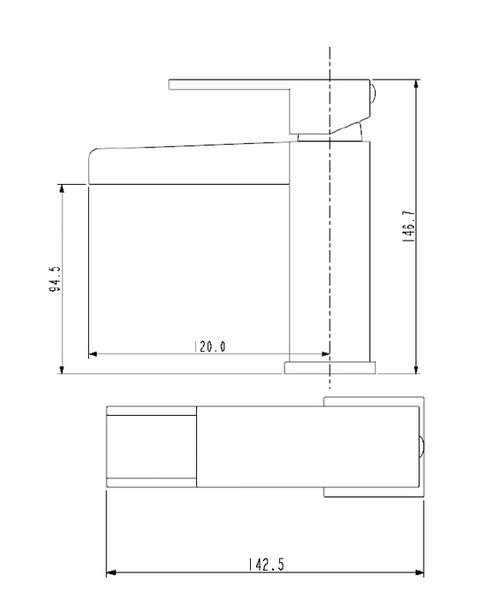 Technical drawing 1111 / HA BASNW C