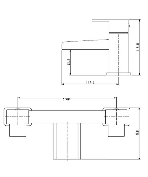 Technical drawing 1113 / HA BF C