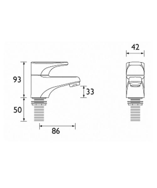 Technical drawing 1114 / JU 1/2 C
