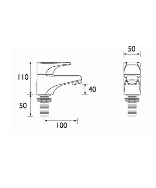Technical drawing 1115 / JU 3/4 C