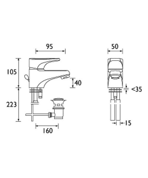 Technical drawing 1117 / JU BAS C